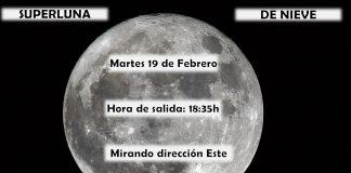 Datos observación superluna. Meteosojuela La Rioja