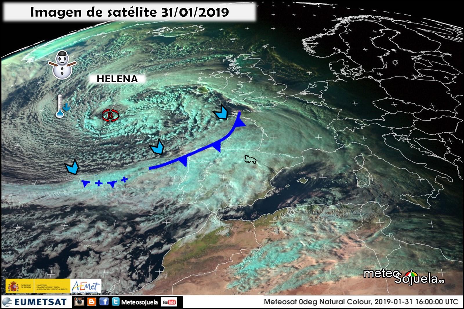 Imágen Satélite HELENA. Meteosojuela La Rioja. Jose Calvo