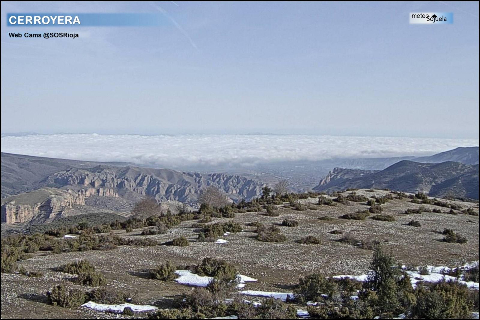 Mar de nubes desde Cerroyera.SOS Rioja. Meteosojuela