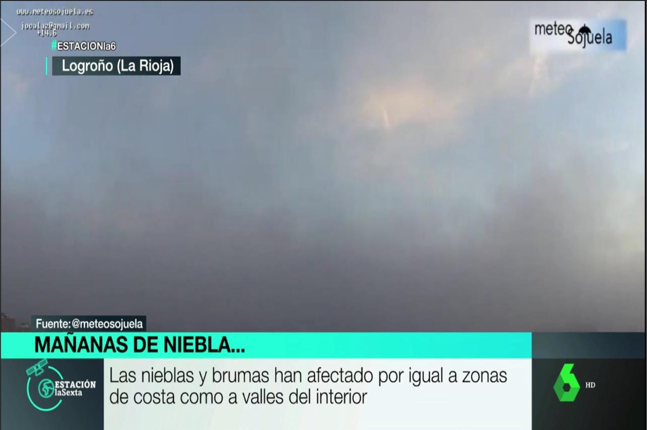 Nieblas en Logroño. Aqui la Tierra 0602. Meteosojuela