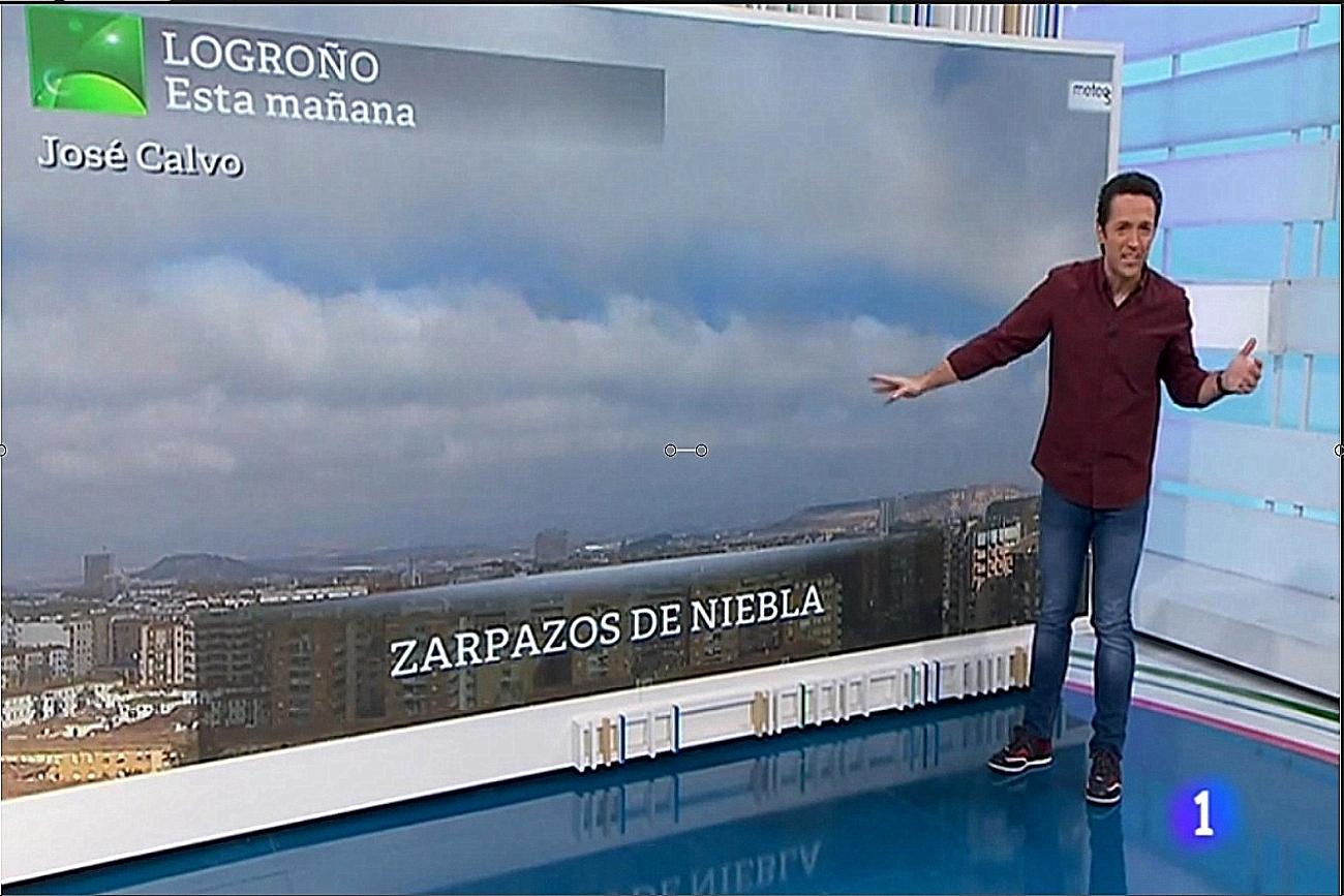 Nieblas en Logroño. Aqui la Tierra. 1402 Meteosojuela. La Rioja