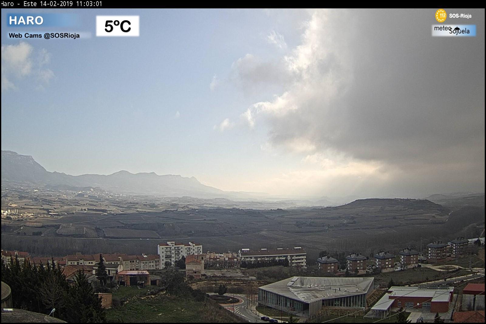 Nieblas estacion SOS Rioja Haro. Meteosojuela