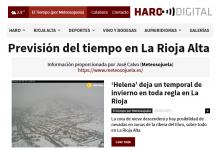 Portada Harodigital.com 05022019 Meteosojuela. La Rioja