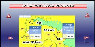 AVISOS Amarillos por Viento. AEMET. Meteosojuela