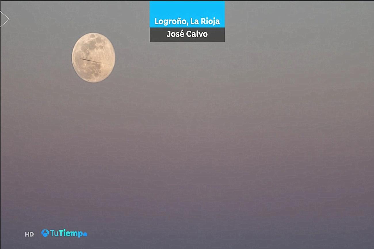 Luna Llena. Tu tiempo A3. Brasero 2103 Meteosojuela