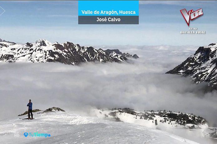 Mar de nubes en Candachú. Tu tiempo Brasero Meteosojuela