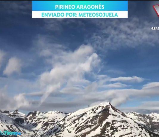 Nubes fantasma. Tu tiempo Antena 3 Brasero. Meteosojuela