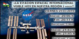 Paso Estación Espacial Internacional ISS La Rioja. Meteosojuela