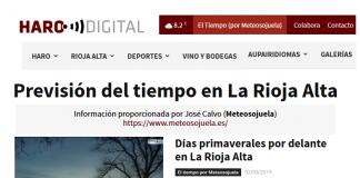 Portada Harodigital.com 02032019 Meteosojuela. La Rioja