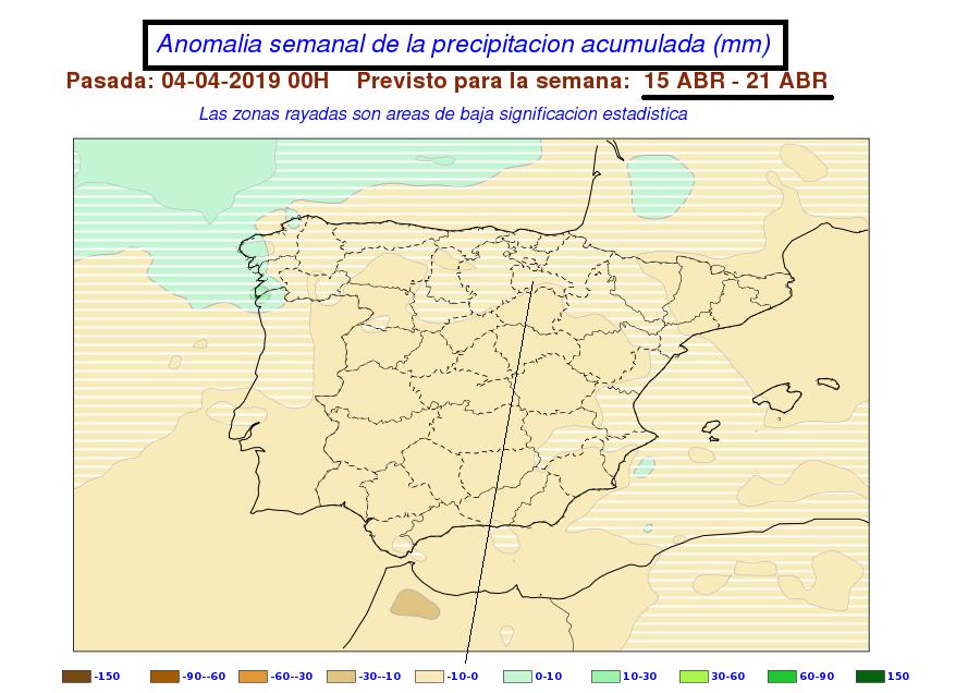 Anomalía precipitación SS