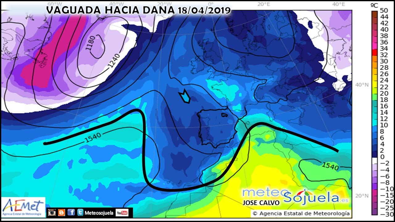 Modelos Altura Geopotencial 850 hPa AEMET.