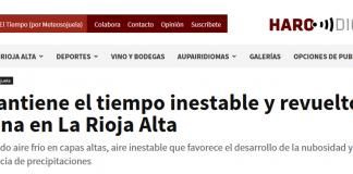 Portada Harodigital.com 23042019 Meteosojuela. La Rioja