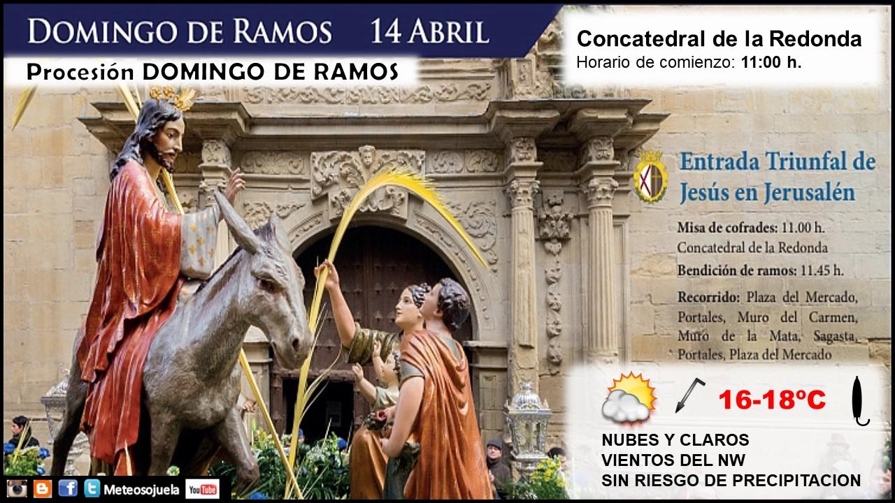 Procesión Domingo de Ramos. Meteosojuela