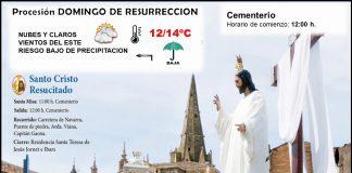 Procesión Domingo de Resurrección. Meteosojuela