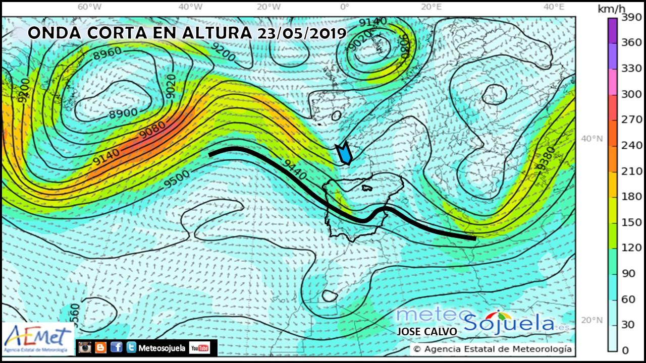 Animación imágenes de satélite. Altas presiones . Meteosojuela La Rioja