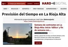 Portada Harodigital.com 14052019 Meteosojuela. La Rioja