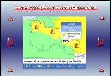 Aviso Temperatura Máxima AEMET.25 Meteosojuela