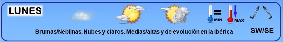 Leyenda. Iconos, simbolos tiempo en La Rioja. Meteosojuela La Rioja 03