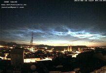 Nubes Noctilucentes Logroño Meteosojuela