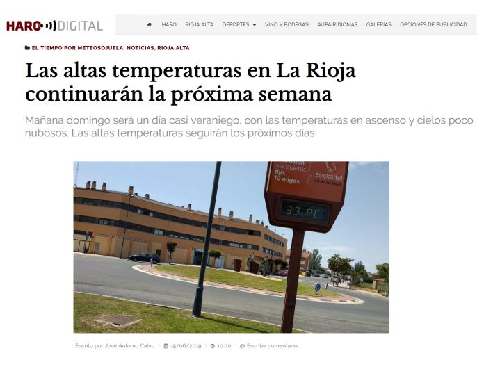 Portada Harodigital.com15062019 Meteosojuela. La Rioja