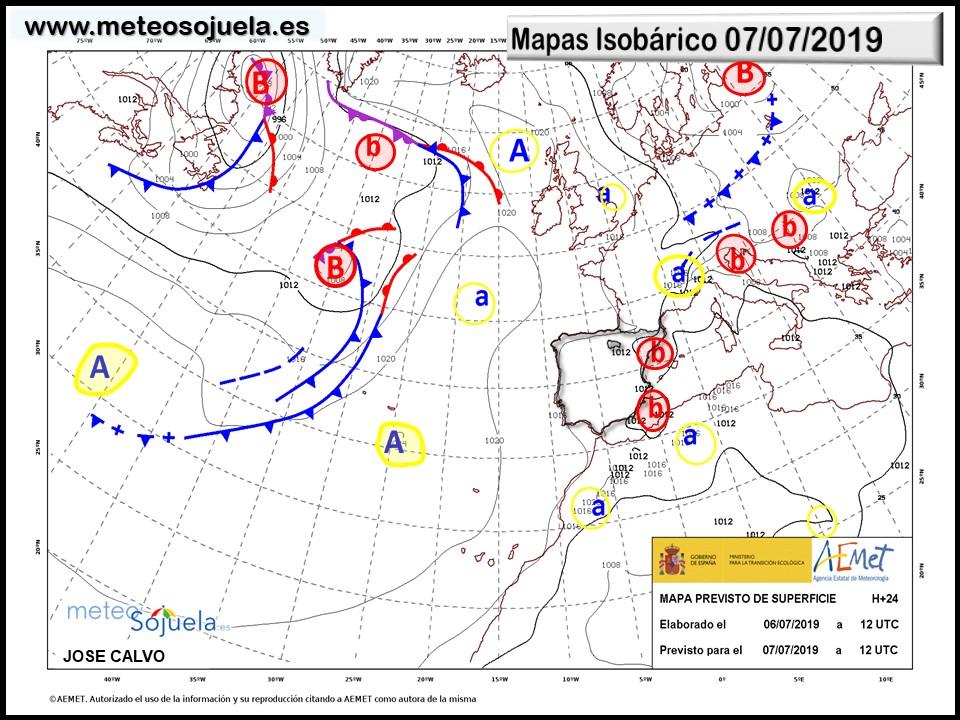 Animación imágenes de satélite. Tormentas . Meteosojuela La Rioja
