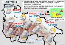 Mapa tiempo La Rioja. Meteosojuela