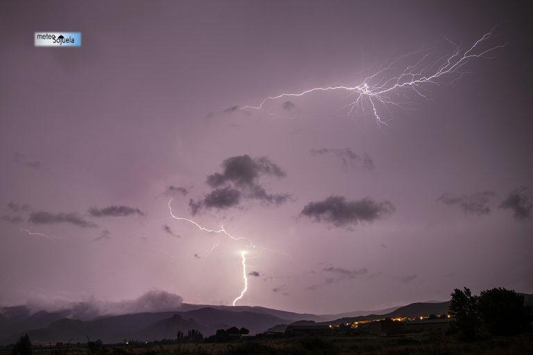 Inestabilidad y tormentas en La Rioja. 13-14/07/2019. Imágenes