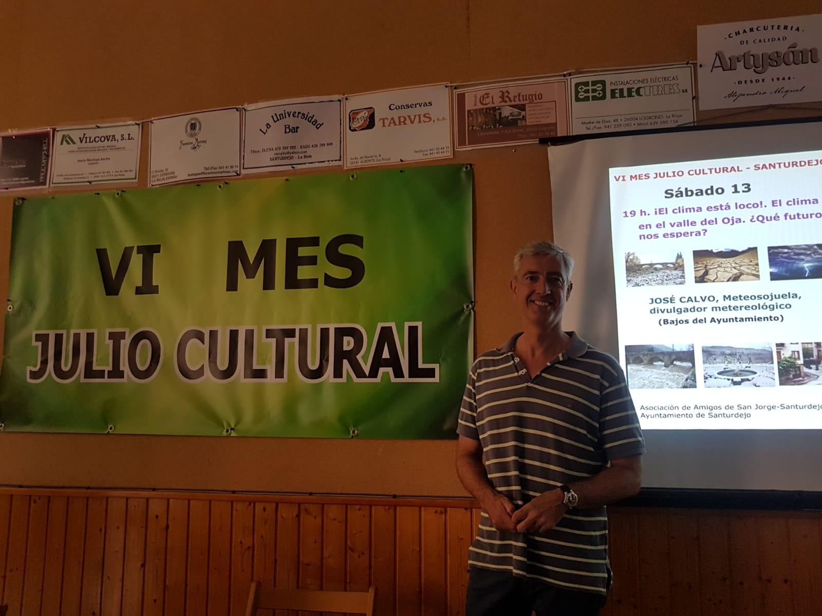 Charla Cultural en Santurdejo
