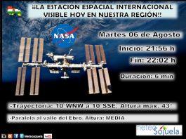 Datos Estación Espacial Internacional ISS Meteosojuela