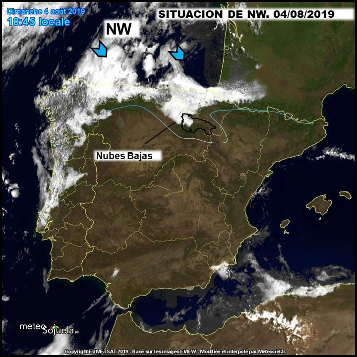 Imagen Satélite nubes de retencion Meteosojuela.es