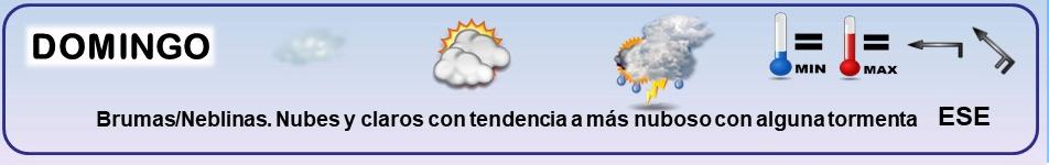 Leyenda. Iconos, simbolos tiempo en La Rioja. Meteosojuela La Rioja 15