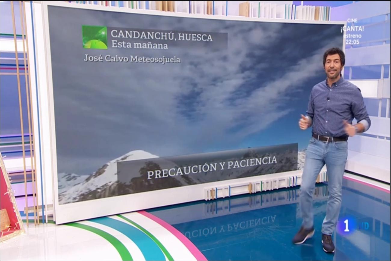Frente en Candanchú. Aquí la Tierra 0912. Meteosojuela