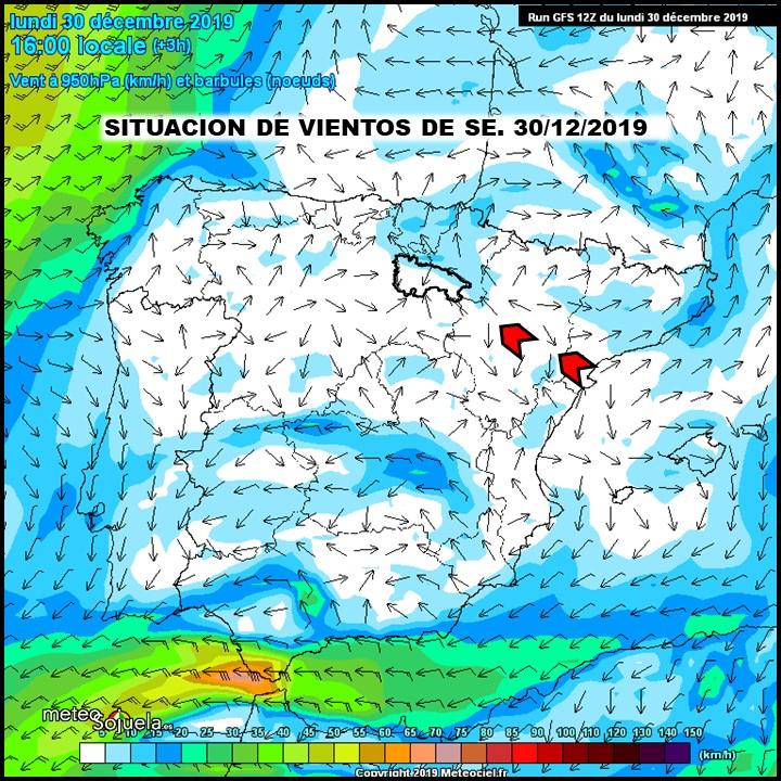Vientos del Este Sureste Meteociel. Meteosojuela