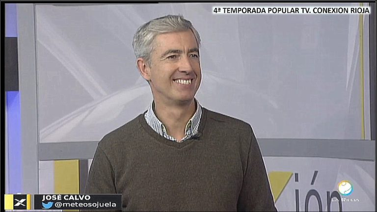 Meteosojuela en televisión. POPULAR TV. Conexión Rioja. 05/12/2019.