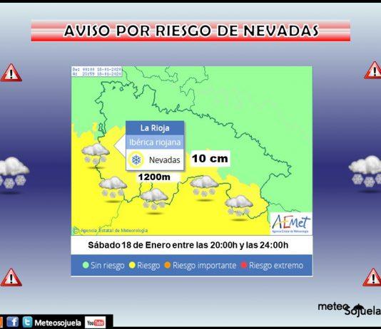 Aviso Amarillo por NIEVE en la Ibérica. Meteosojuela