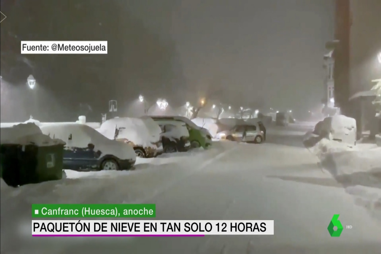 Canfranc. La Sexta Meteo. 0703 Meteosojuela