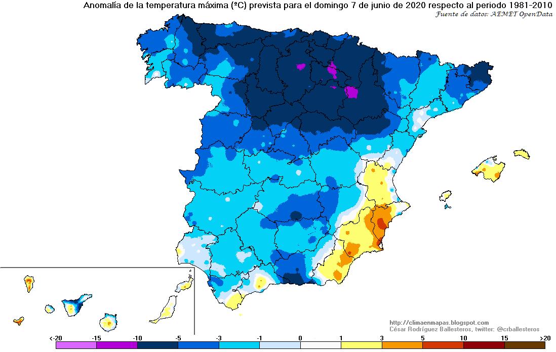 Anomalía Temperatura Máxima