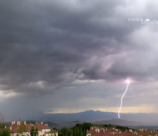 RAYO , tormenta, sojuela,1606 1300 con
