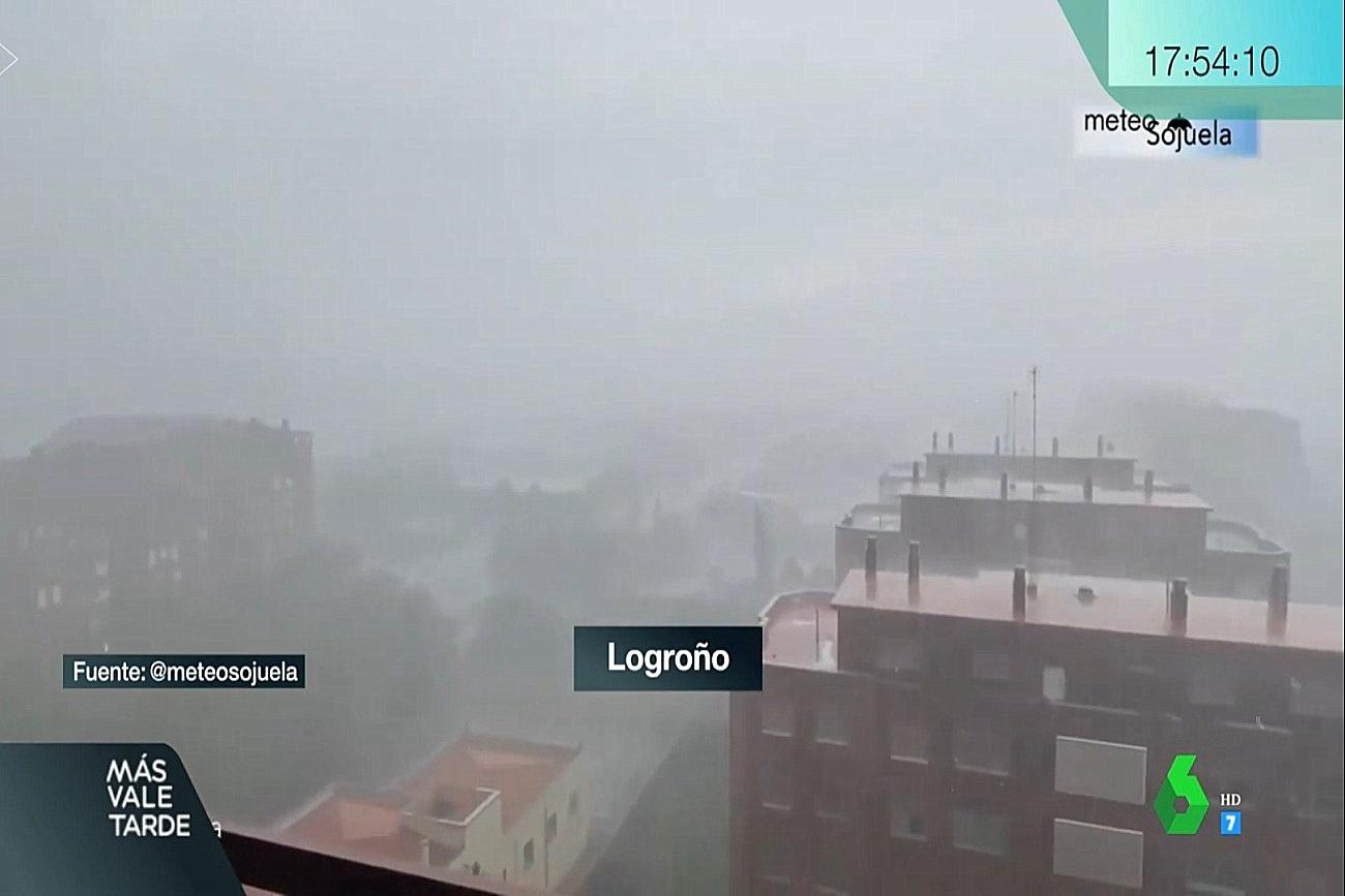 Reventón en Logroño. Mas Vale Tarde La Sexta1 1108 Meteosojuela