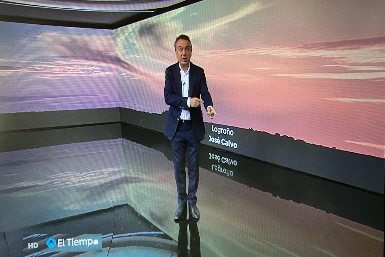 Altocumulus en el Tiempo de Antena 3. 1409 Meteosojuela