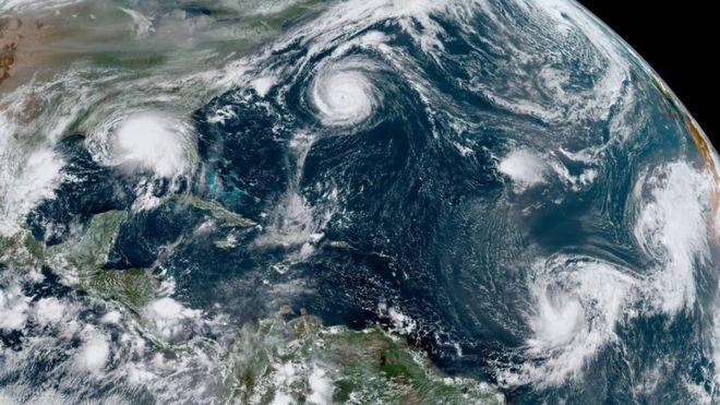 Ciclones tropicales Atlántico . Meteosojuela La Rioja