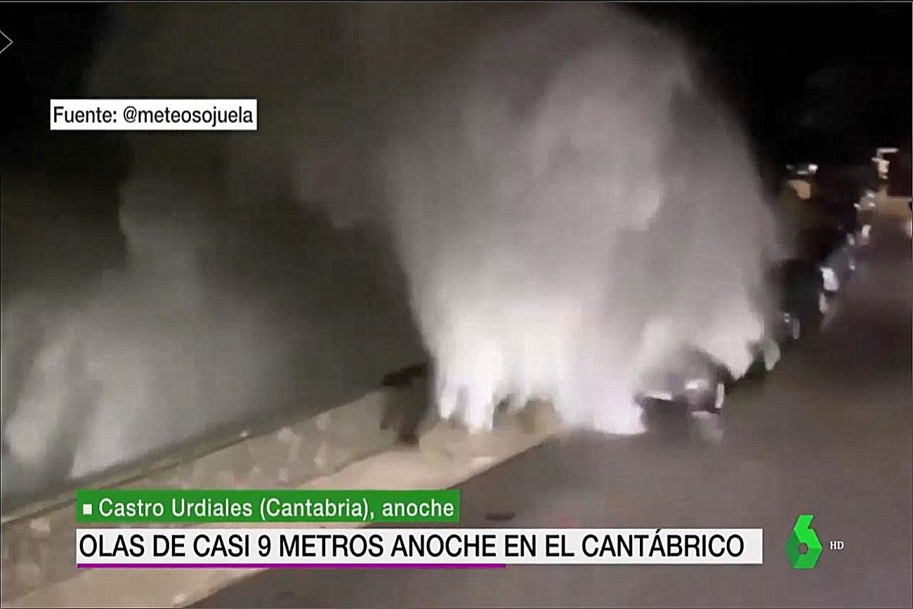 Temporal Castro. La Sexta Meteo 0410. Meteosojuela