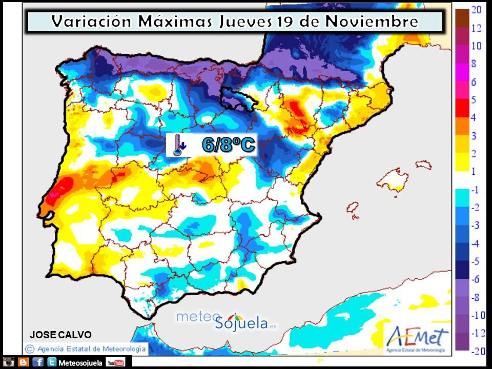 Animación Precipitación AROME. Meteosojuela La Rioja