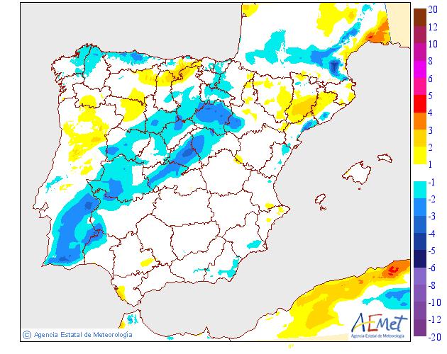Variación de temperaturas máximas AEMET.02 Meteosojuela