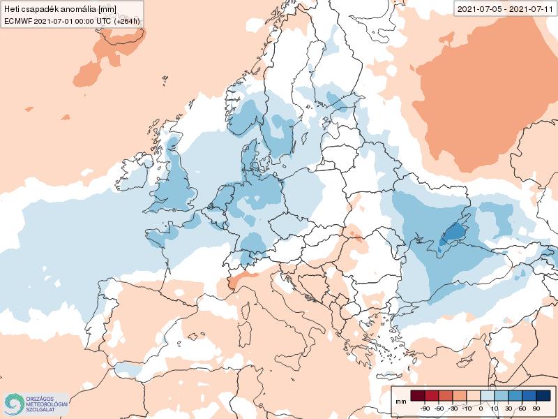 Modelos de Precipitación semanal Julio ECMWF 1ª Semana .Meteosojuela La Rioja