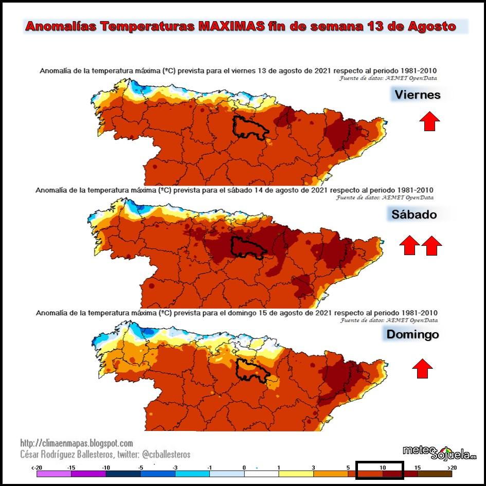 Anomalías Térmicas Temperaturas Máximas. Cesar. Meteosojuela..pptx