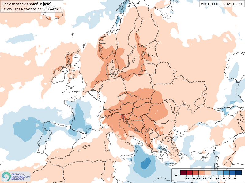 Modelos de Precipitación semanal Septiembre ECMWF 1ª Semana .Meteosojuela La Rioja
